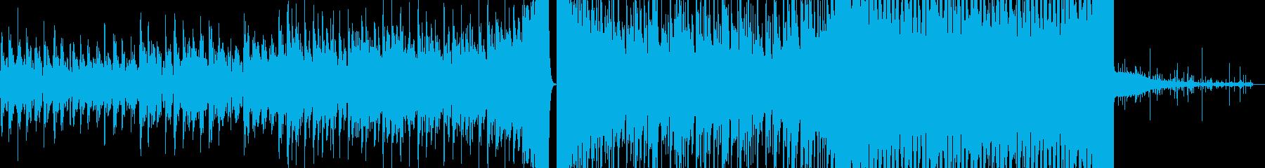 【ローファイ】少し寂しい雰囲気の映像にの再生済みの波形