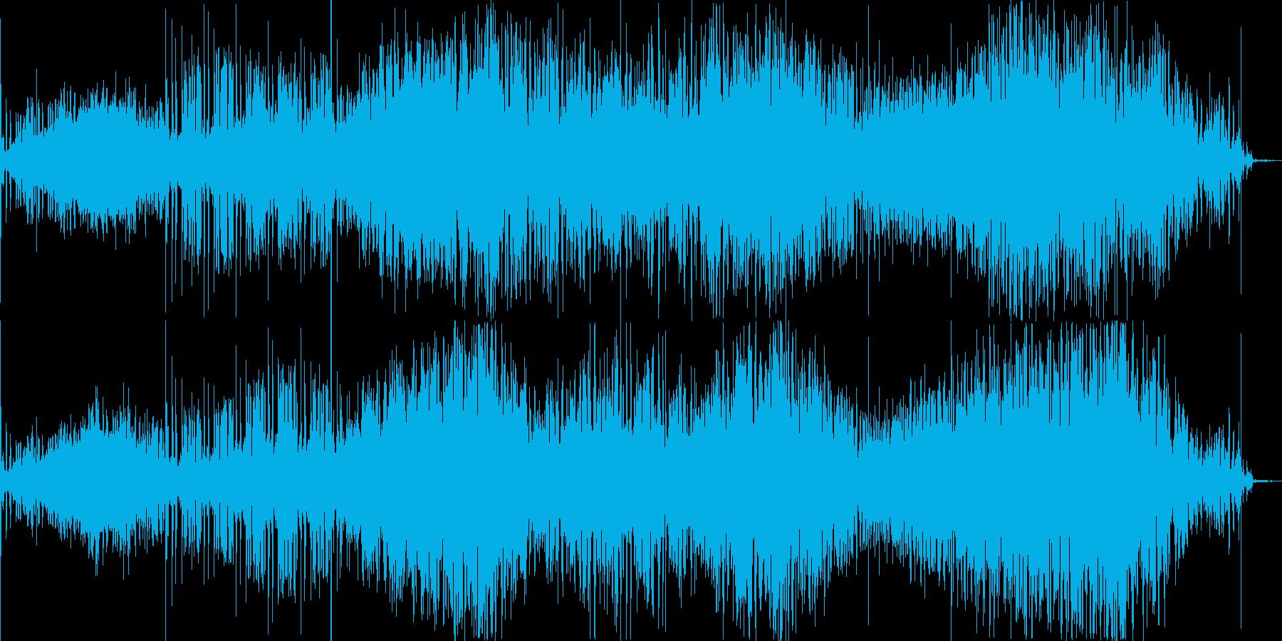 無機質なシグナルとノイズが生み出す緊張感の再生済みの波形