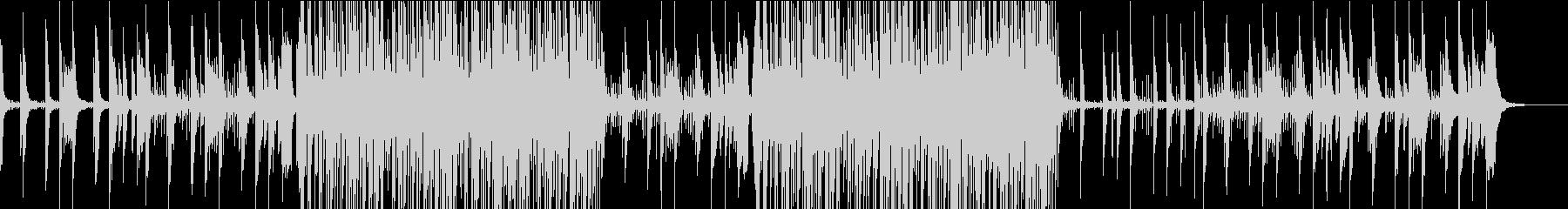 かわいい系シンセポップの未再生の波形