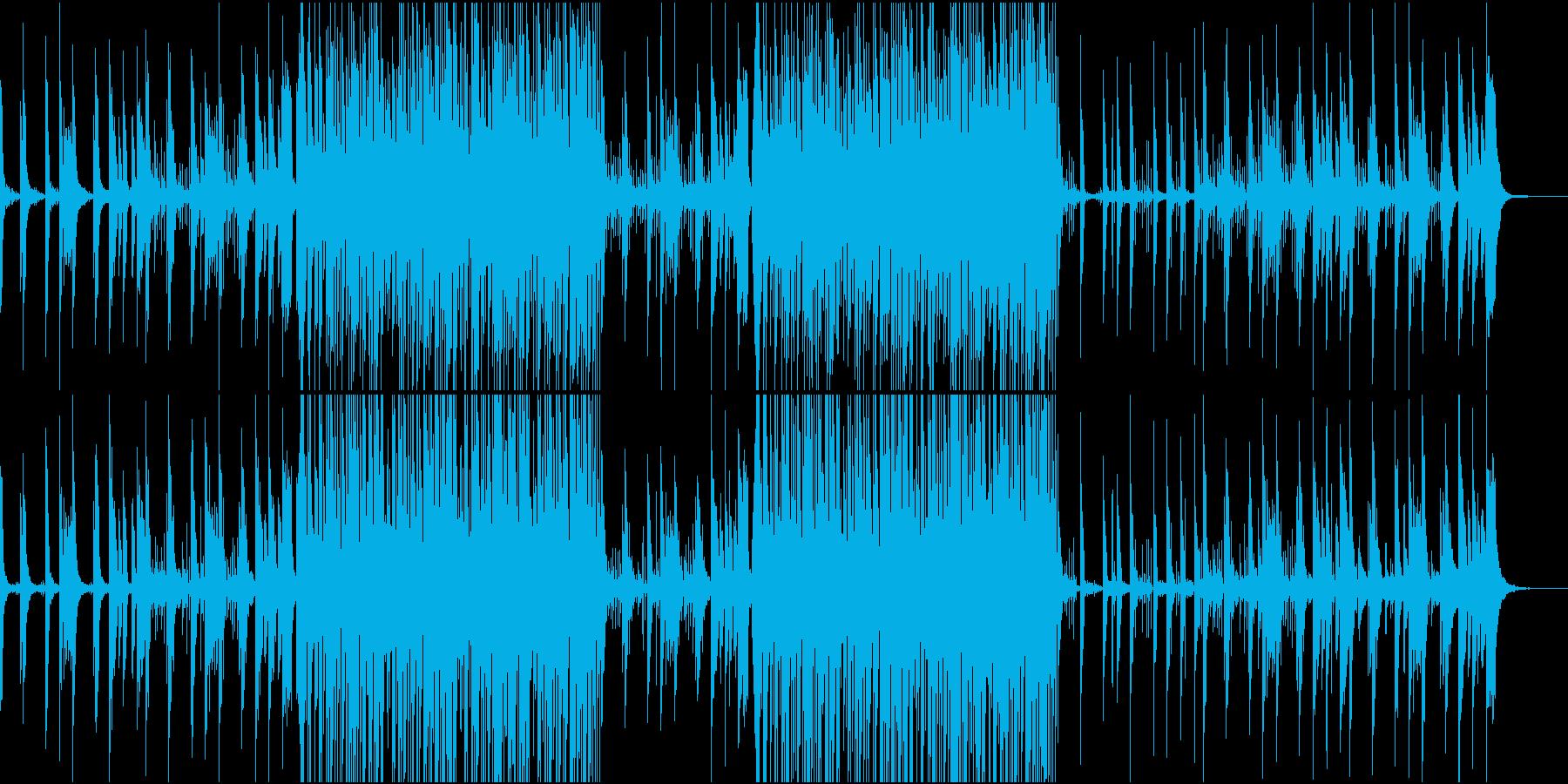かわいい系シンセポップの再生済みの波形