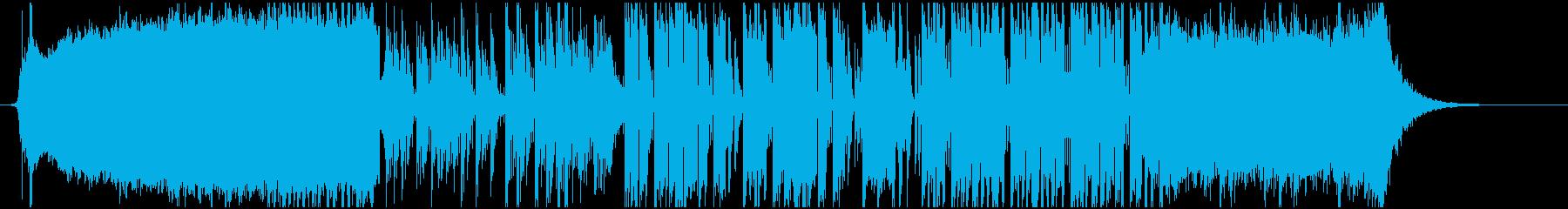 オープニングに使えるフューチャーベースの再生済みの波形