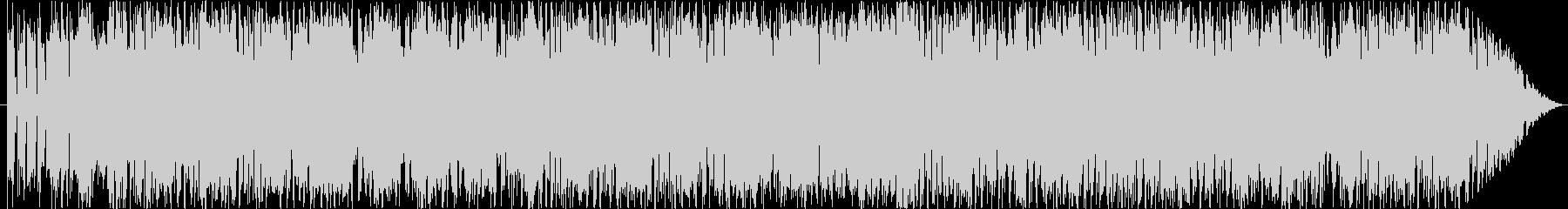 熱いギターロック(アクションゲーム向け)の未再生の波形