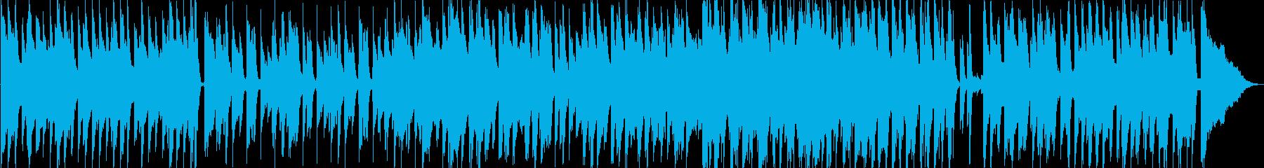 アコースティックな可愛い日常BGMの再生済みの波形
