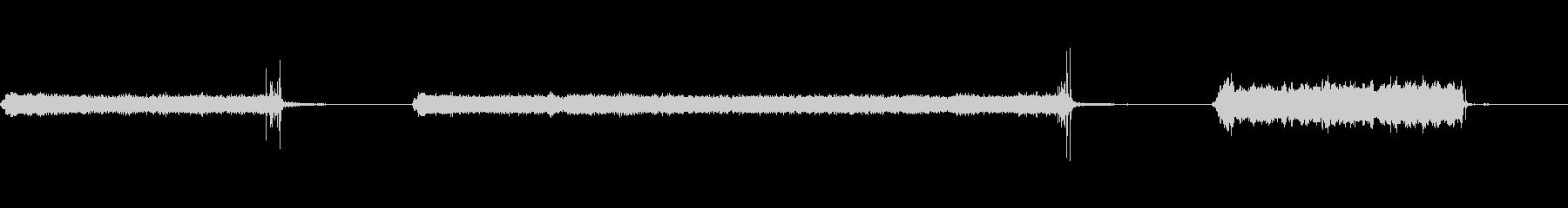 超音波、クリーニングマシン、ブザー...の未再生の波形