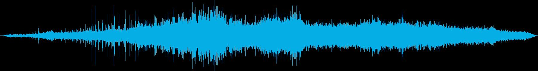 自動ソフトクロスカーウォッシュ:I...の再生済みの波形