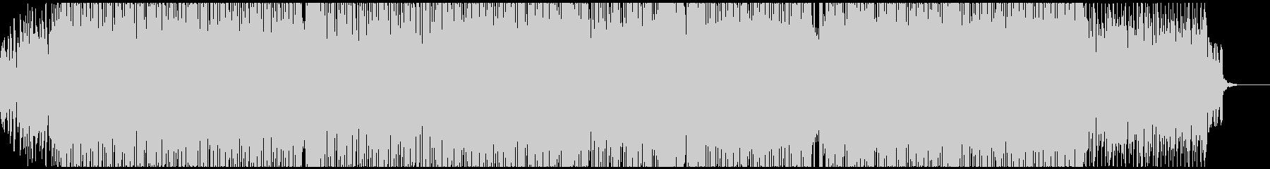CM・VP・ゲーム クールなエレピテクノの未再生の波形
