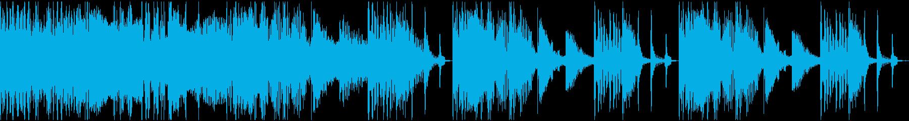 【エレクトロニカ】ロング4、ショート2の再生済みの波形