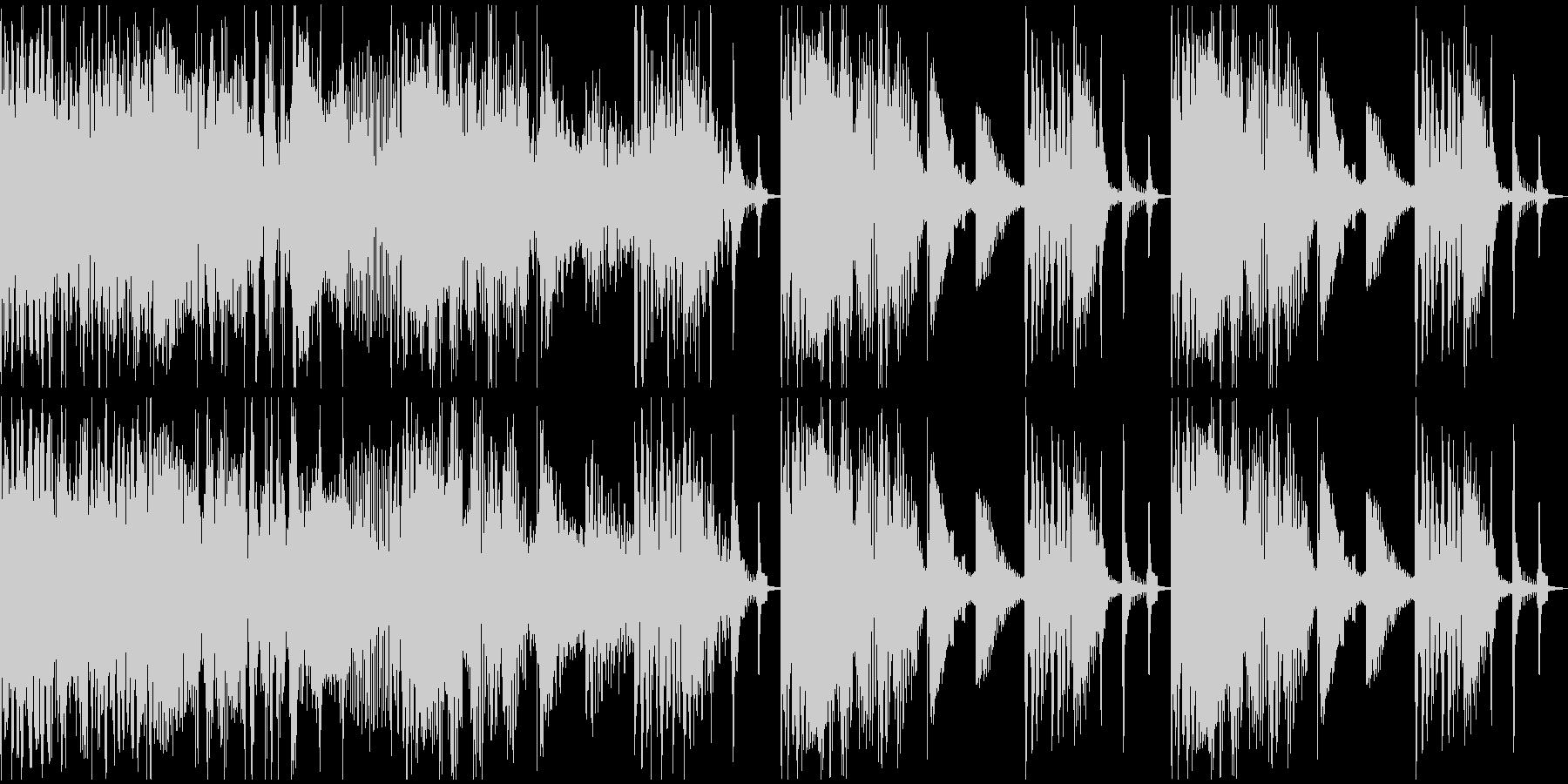 【エレクトロニカ】ロング4、ショート2の未再生の波形