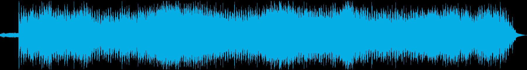 無重力なシンセロックの再生済みの波形
