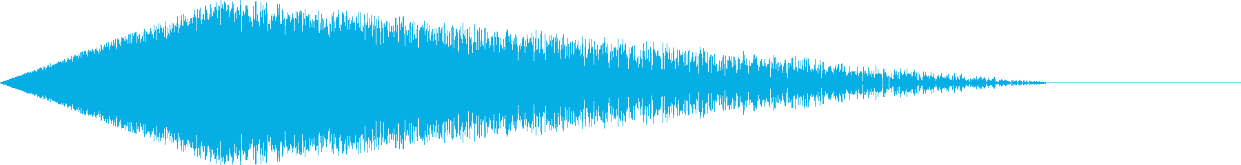 [シュワー]シューティング/ワープ01の再生済みの波形