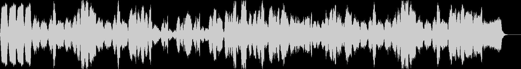 結婚行進曲*生バイオリンの暖かなサウンドの未再生の波形