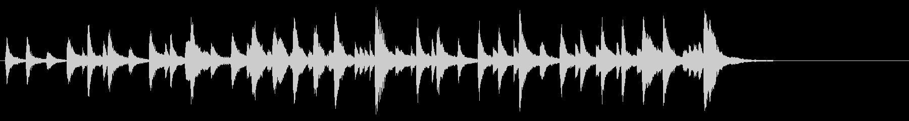 《ジゼル》より ペザントの男性Var.の未再生の波形
