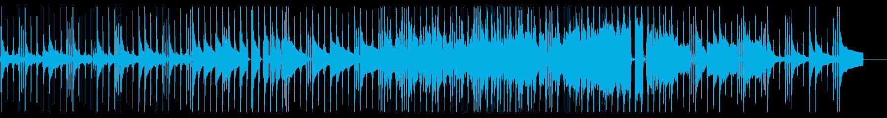 ピアノメインの優しくも強いロックバラードの再生済みの波形