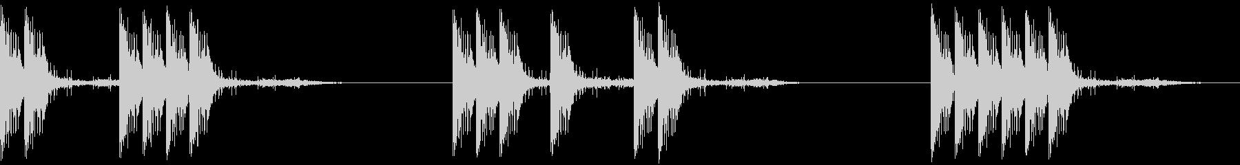 リボルバー:ハンドガン、ピストル、...の未再生の波形