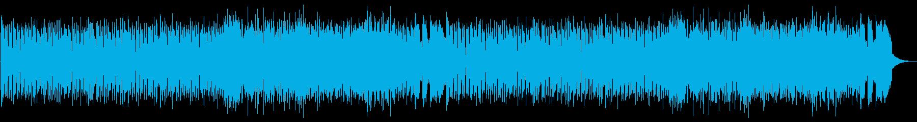 ポップなハロウィンの再生済みの波形