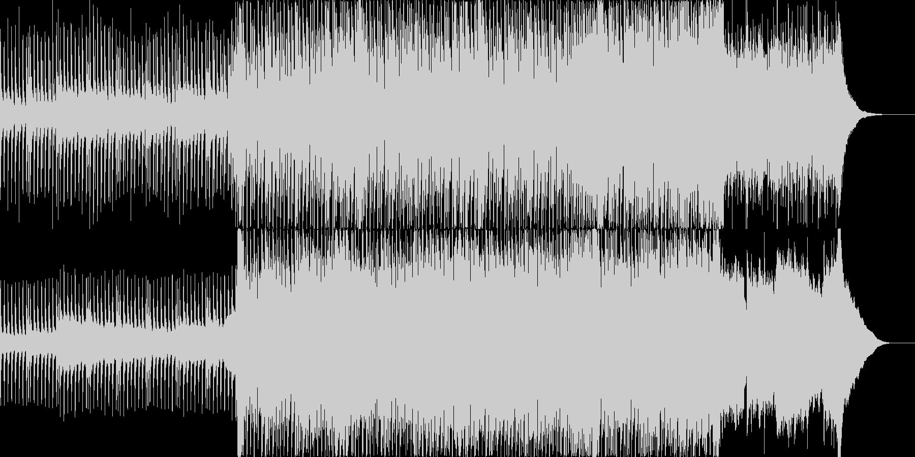 各種イベントのナレーションのバックなどにの未再生の波形