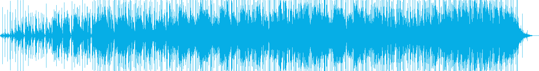 アナログシンセリードとストリングス...の再生済みの波形