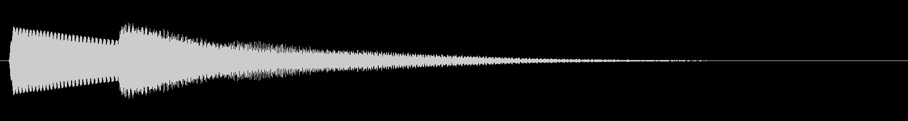 【落下音】ひゅ〜(コミカル)の未再生の波形