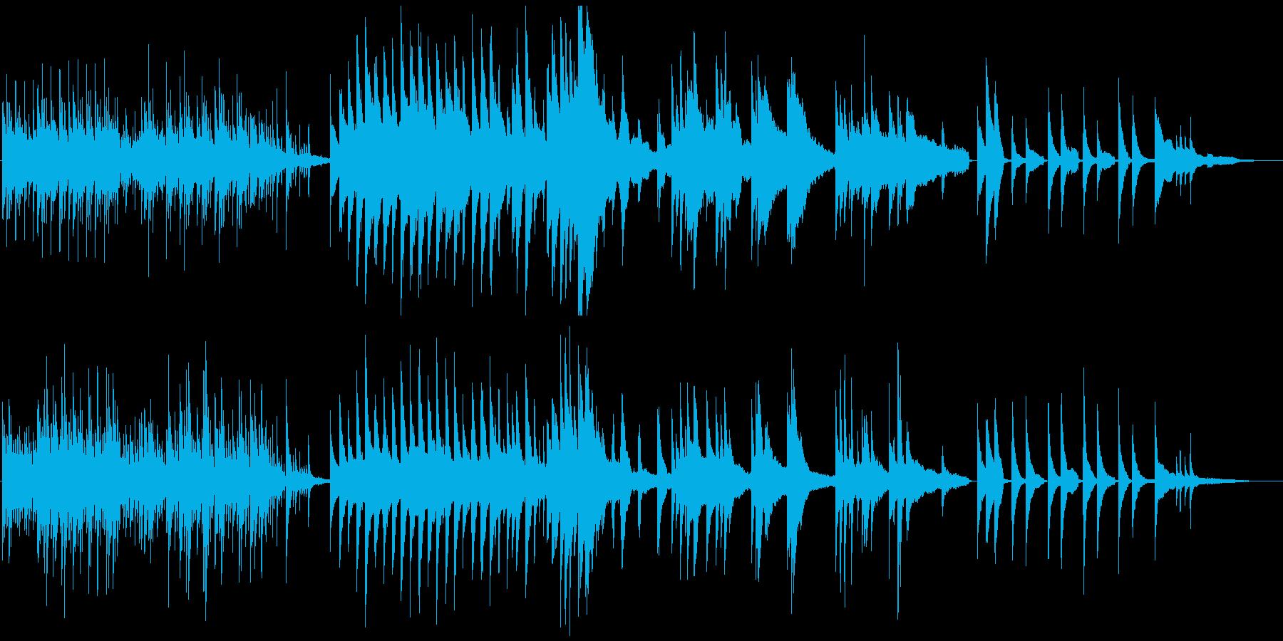 感動ソロピアノ ゆったり空間に重厚感の再生済みの波形