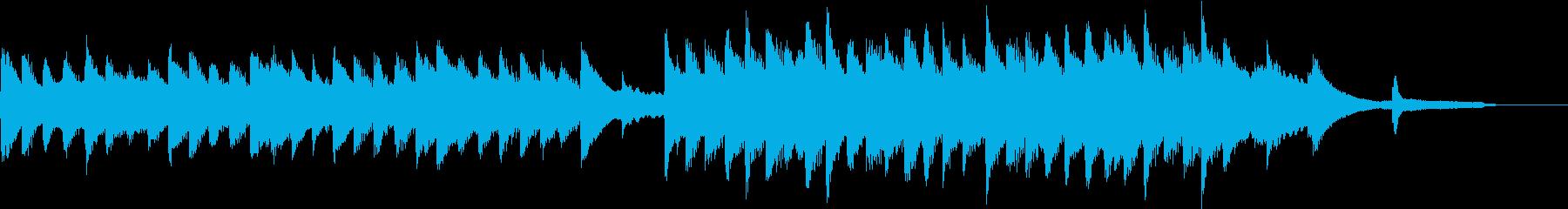 映像に 優しく切ないピアノバラードの再生済みの波形