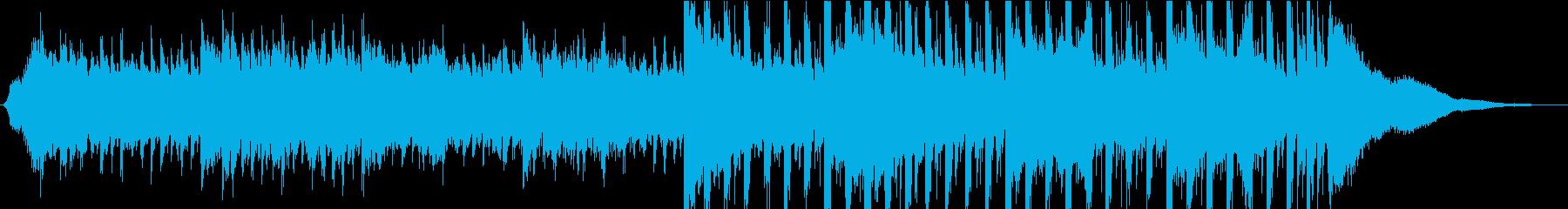 ポップ テクノ ドラマチック 感情...の再生済みの波形