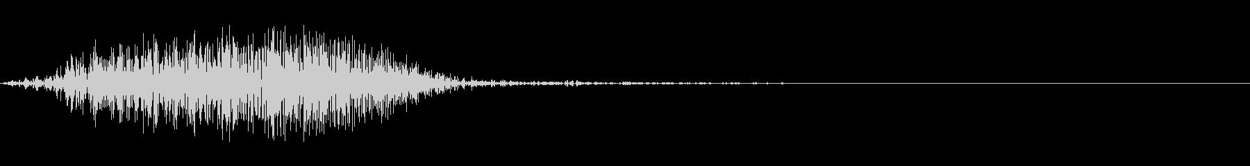【SE】風切り音ナイフ、ダガー等01の未再生の波形