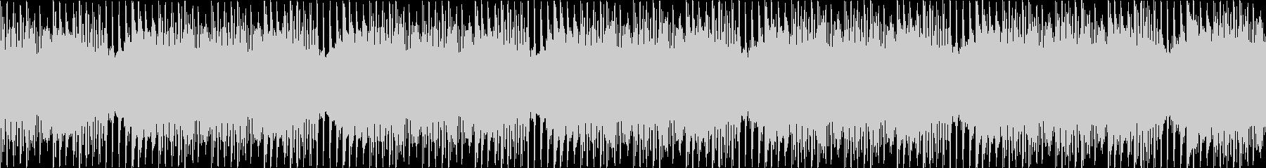 マリンバ/ピアノ/ループ/動画BGM用2の未再生の波形