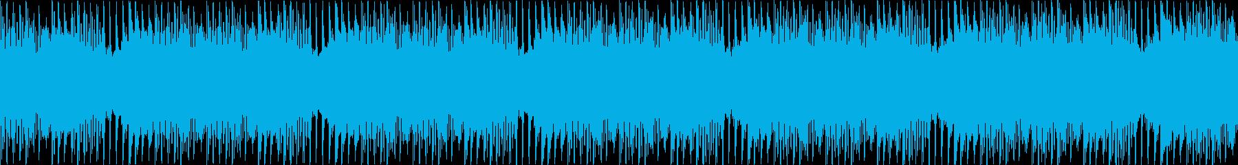マリンバ/ピアノ/ループ/動画BGM用2の再生済みの波形