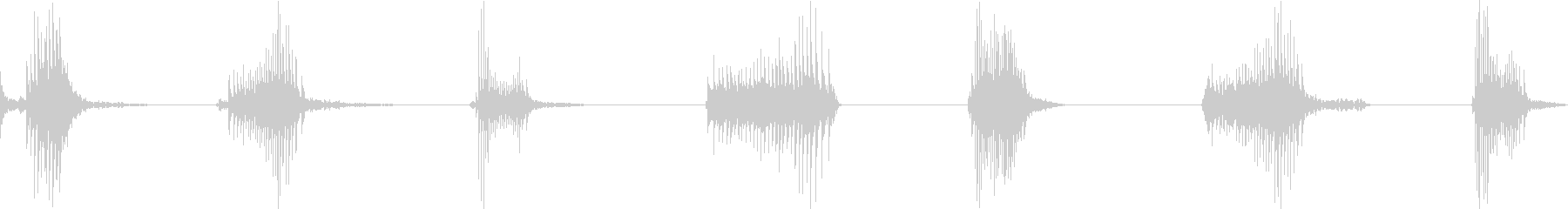 シートメタル、バウンス、インパクト...の未再生の波形