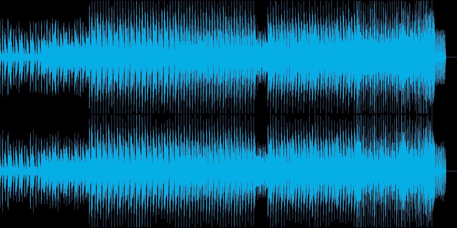 トロピカル EDM メジャー グリッチの再生済みの波形