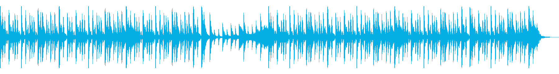 風変わりな電子シンセとアコースティ...の再生済みの波形