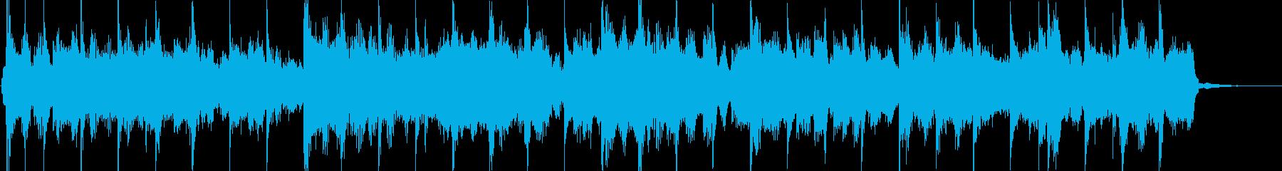 ローズピアノとシンセによるスムースジャズの再生済みの波形