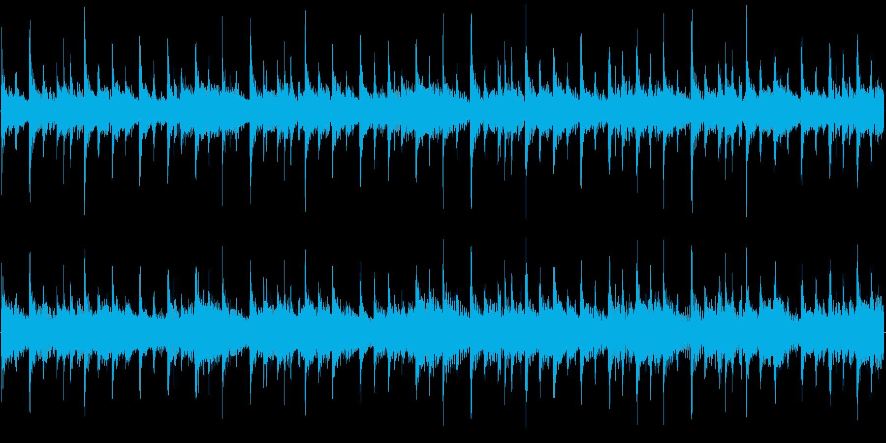 128bpm_C#→G#-Maj、ロックの再生済みの波形