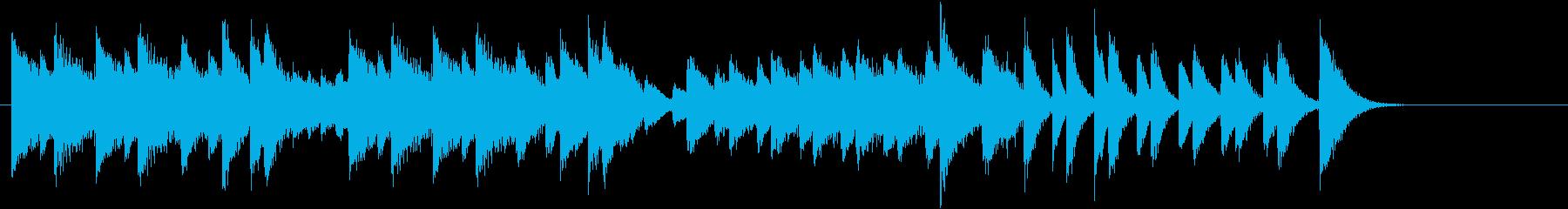節分!鬼のパンツモチーフピアノジングルDの再生済みの波形