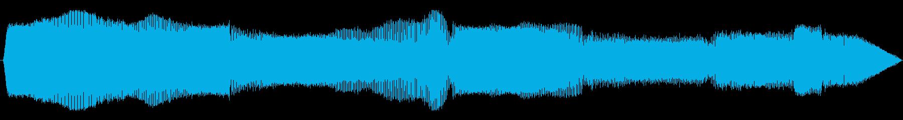 オートバイ ドゥカティクルーザー減速01の再生済みの波形