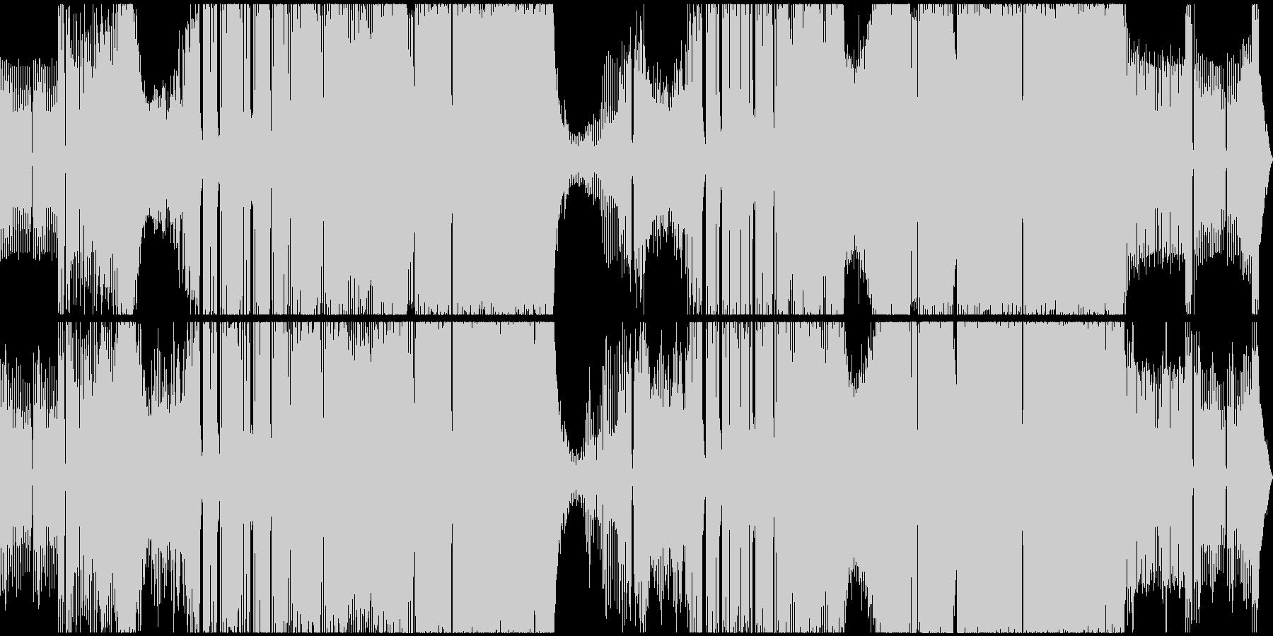 ノスタルジック、イービル、ブラックの未再生の波形