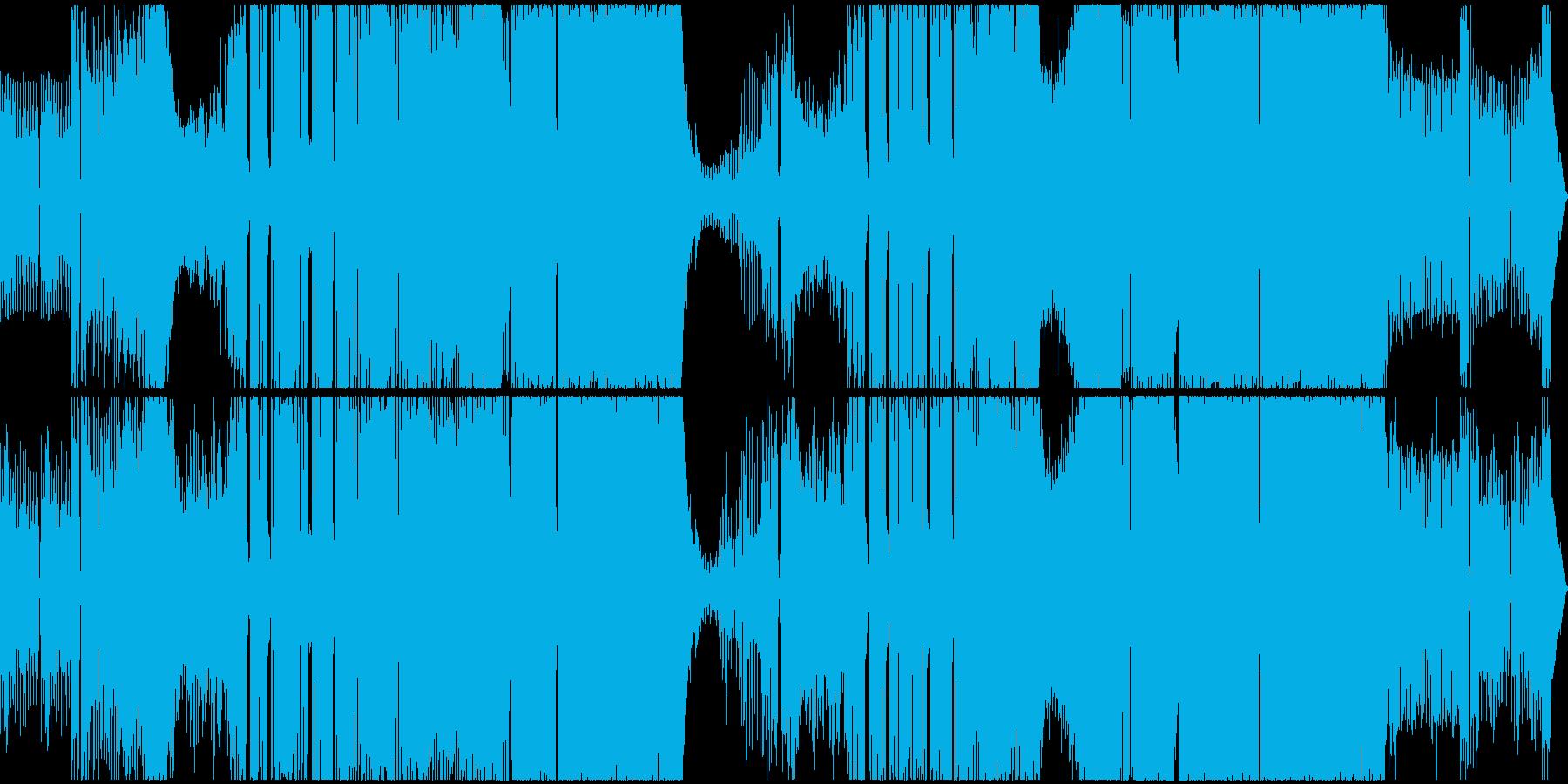 ノスタルジック、イービル、ブラックの再生済みの波形