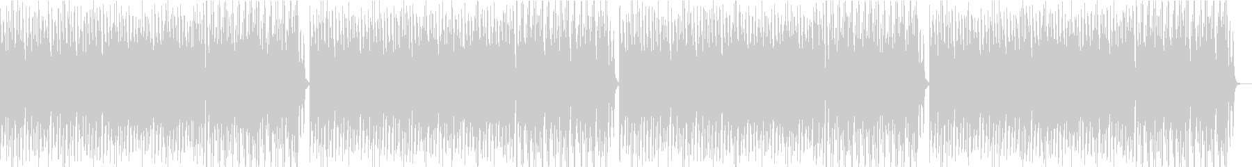 コミカルオーケストラの未再生の波形