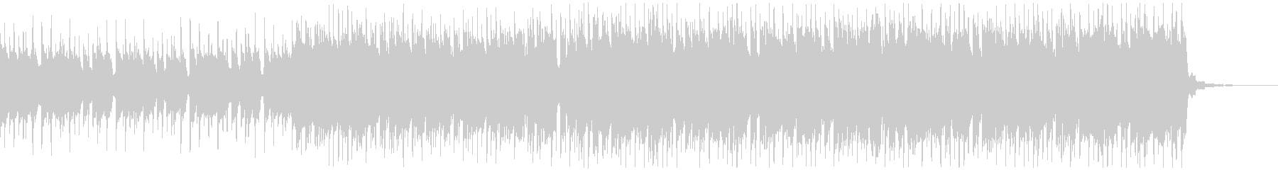 Piano House 3の未再生の波形