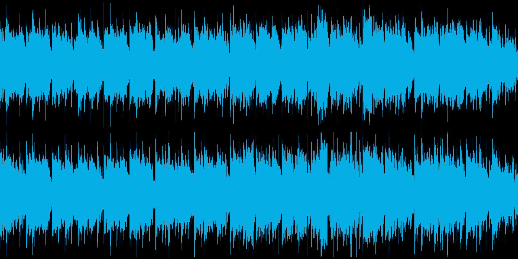 和風曲◆郷愁、壮大、切ない篠笛※ループ版の再生済みの波形