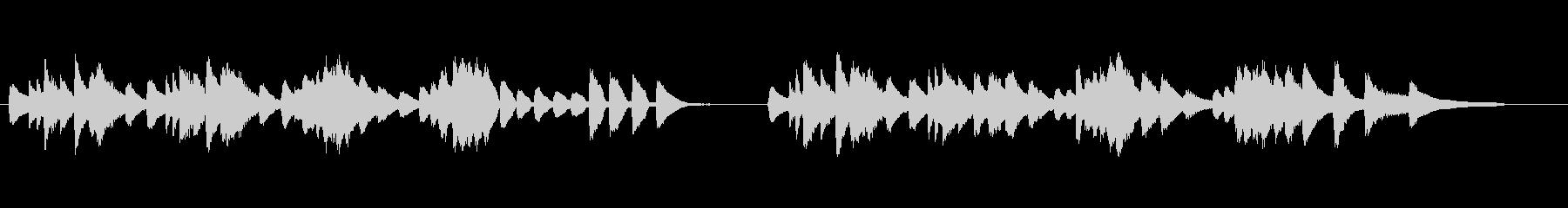 バルトーク「子供のために」17番の未再生の波形