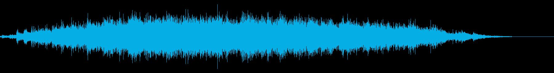 拍手(ステレオ/ライブ/コンサート)07の再生済みの波形