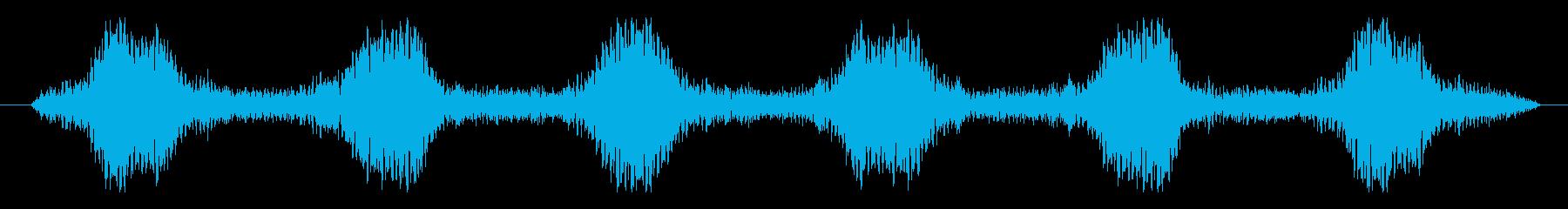 フィクション 実用性 抽象シンセ03の再生済みの波形