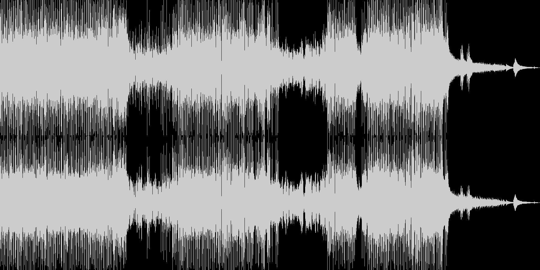 フルート・涼し気なポップス 短尺の未再生の波形