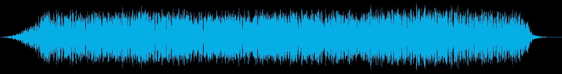 テルミン:揺れる不気味な音楽のアクセントの再生済みの波形
