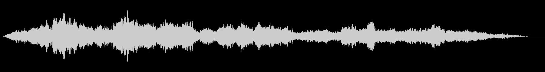 森から聞こえてくる民族的神秘的な歌声02の未再生の波形
