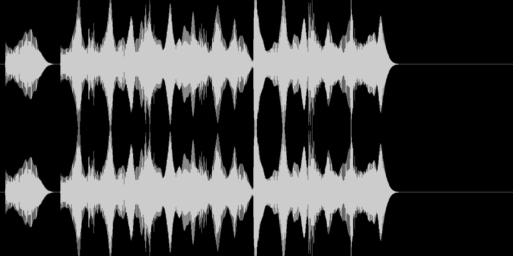 負けた時の残念な音03の未再生の波形