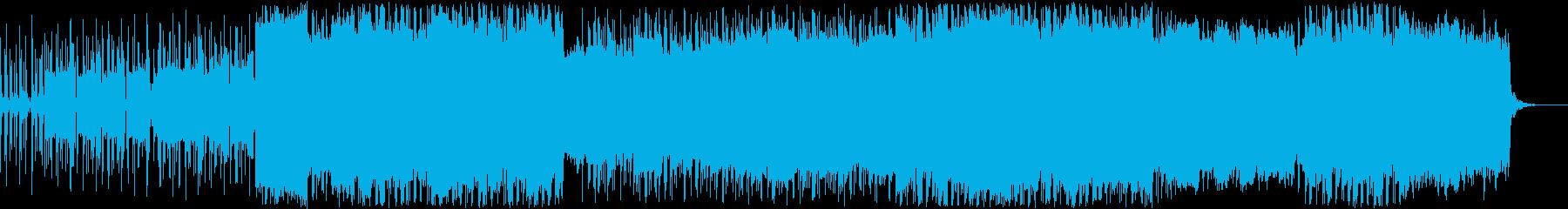 エレクトロポップ女性ボーカル聖歌。...の再生済みの波形