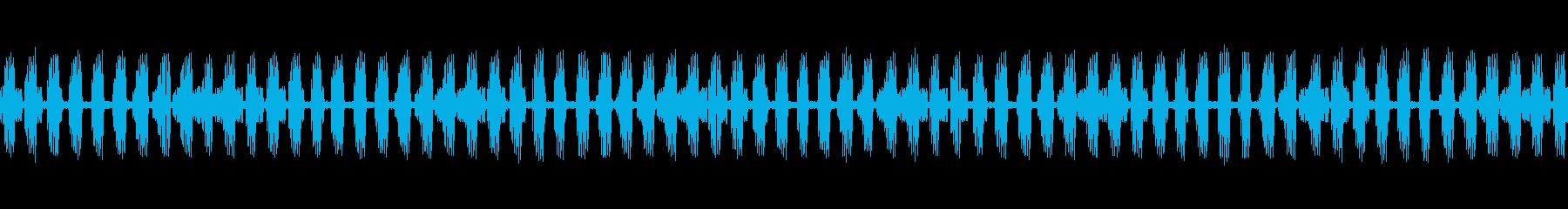 【生録音】秋の虫たちが鳴く音2 ループの再生済みの波形