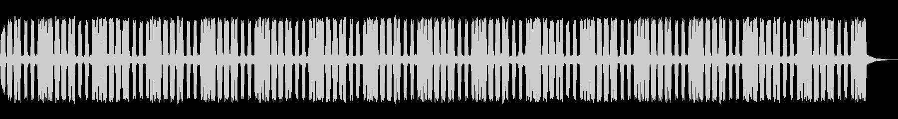 クラクションのループの未再生の波形